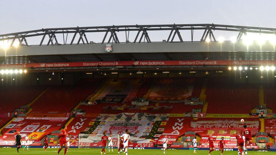 Liverpool en Anfield