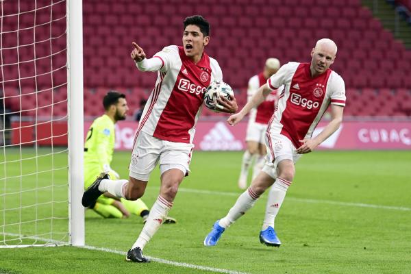 Video: Gol de Edson Álvarez con el Ajax