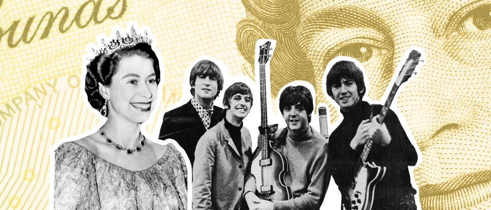 Reina Isabel y The Beatles