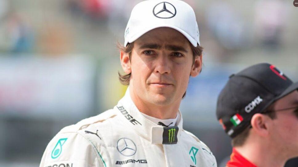 Esteban Gutiérrez con Mercedes en Fórmula E