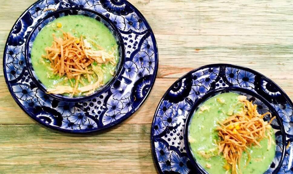 Receta Arroz verde Cocineros Mexicanos