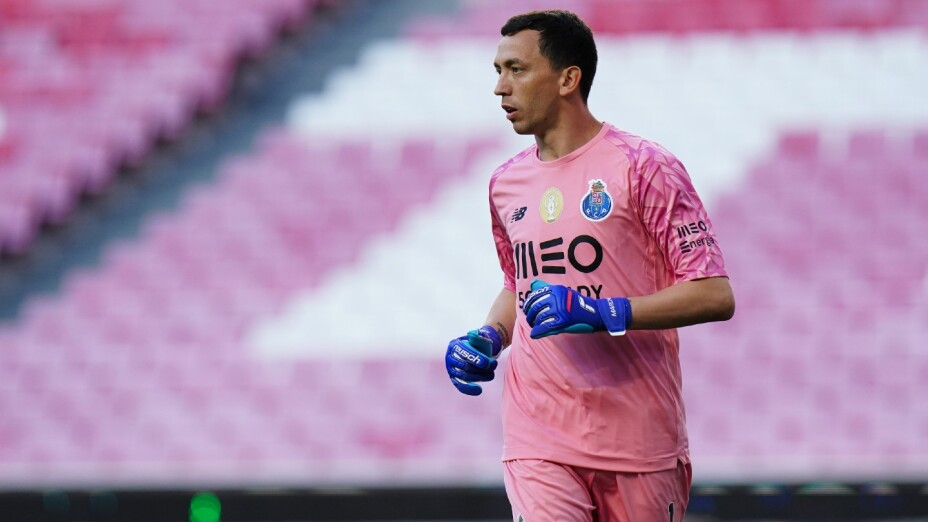 Agustín Marchesín con el Porto