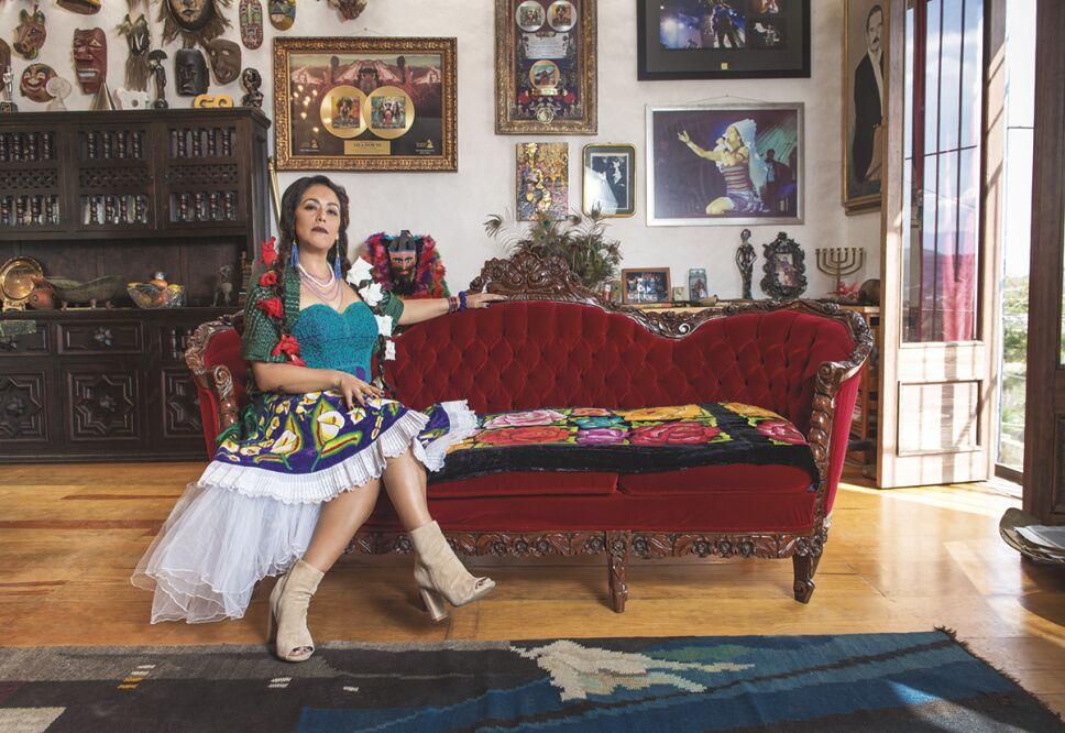 Lila Downs en entrevista