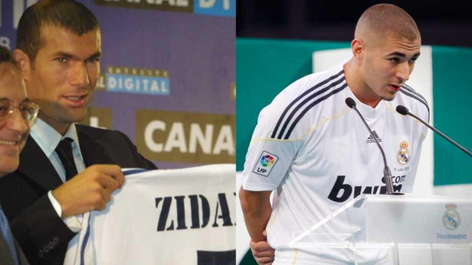 Zinedine Zidane Karim Benzema