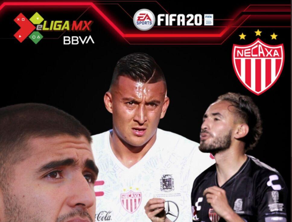 Jugadores de Necaxa para la e Liga MX