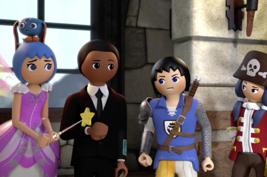 Juntos Ruby, Twinkle, Gene y Alex, son los Súper 4.