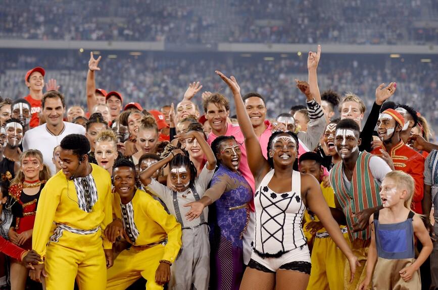 Match For Africa: Las mejores imágenes del Federer vs Nadal
