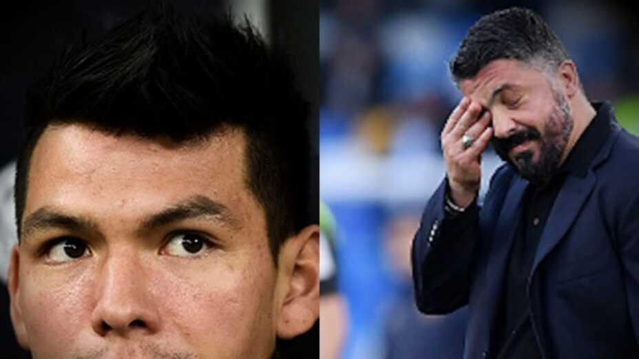Hirving Lozano y Gennaro Gattuso
