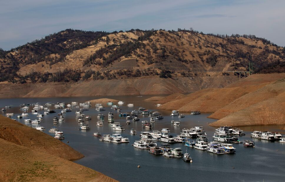 Extreme heat combines with drought conditons in California