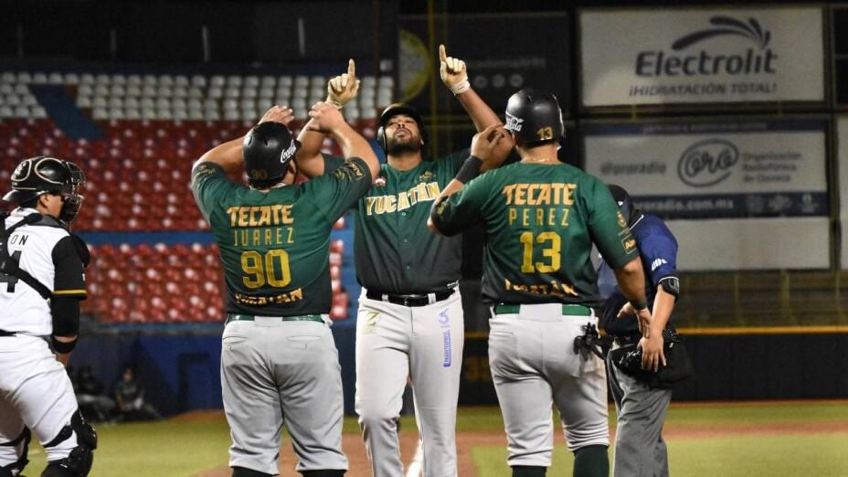 Leones de Yucatán Bravos de León Liga Mexicana de Beisbol