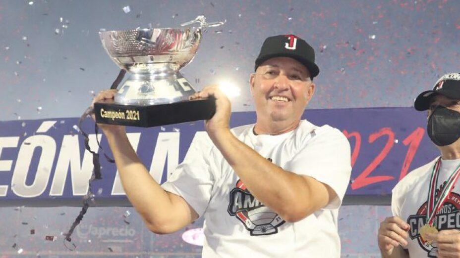 Homar Rojas entrenador Toros de Tijuana