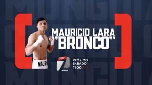 El 'Bronco' Lara en la 'Casa del Boxeo'