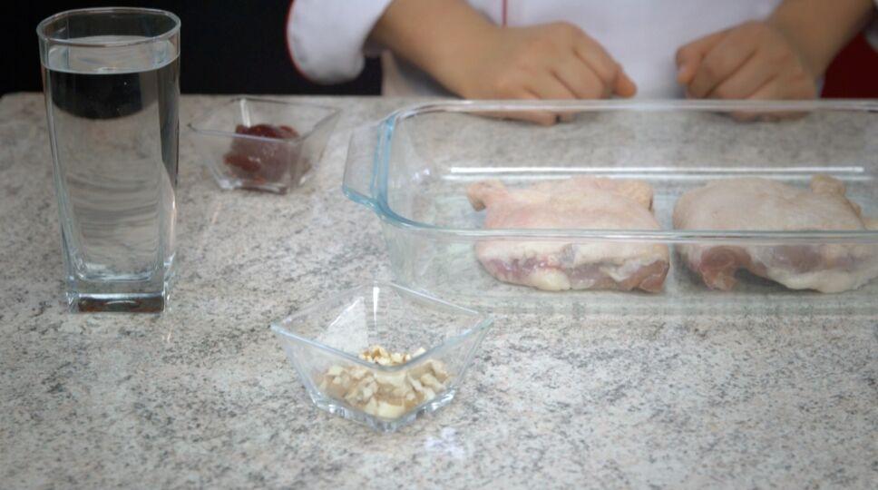 Ingredientes de pato a la frambuesa