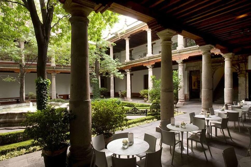 cafeteria del claustro museo franz meyer
