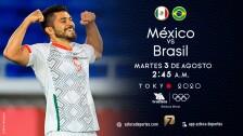 México vs Brasil Semifinal |Tokyo 2020