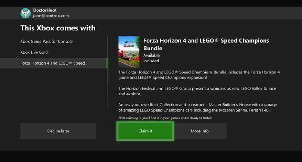 Paso 1 de Xbox