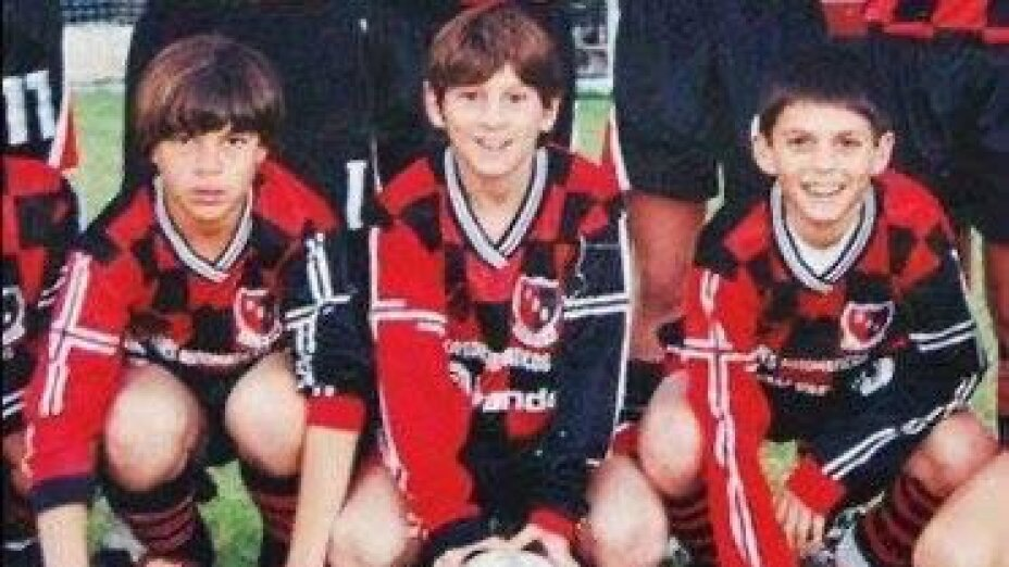 Newell's trolleó al Barcelona con foto inédita de Lionel Messi