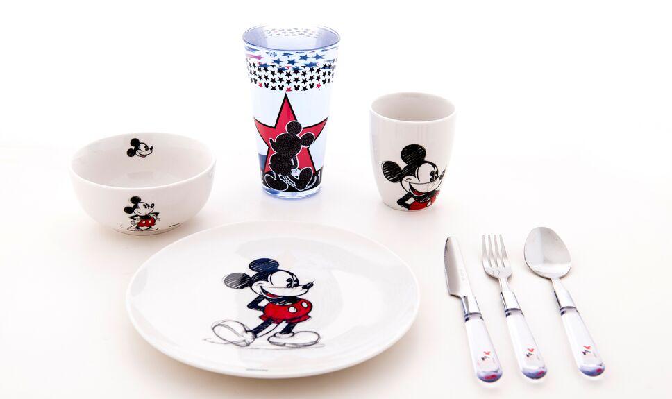 Vajilla Mickey Mouse