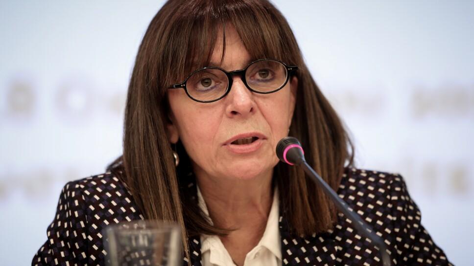 Katerina Sakellaropoulou, primera presidenta en la historia de Grecia y amante de los gatos