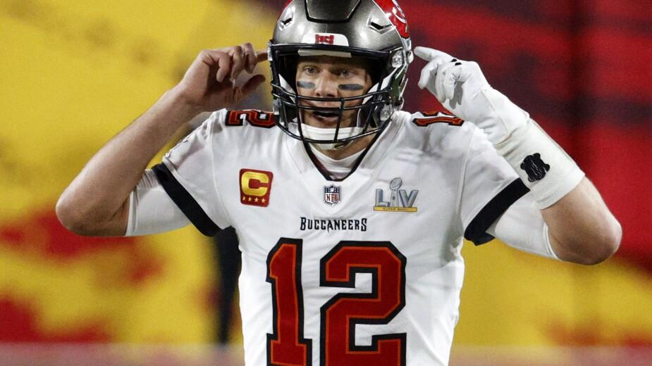 Tom Brady nunca perdió la concentración