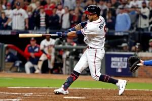 Eddie Rosario Serie Mundial Bravos de Atlanta Astros de Houston