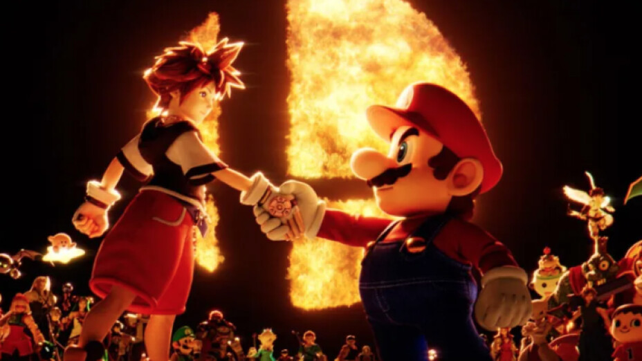 Sora llega a Super Smash Bros