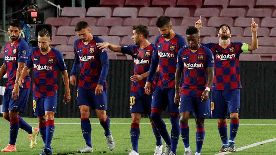 Paseo en el Camp Nou y el Barcelona a Cuartos de Final