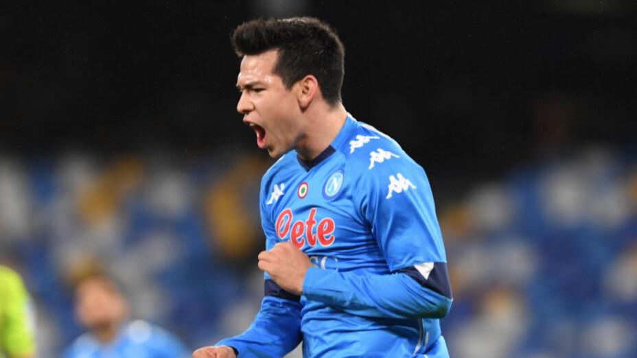 Gol Chucky Lozano Napoli