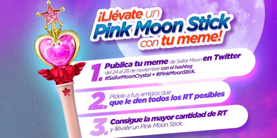 Pink moon stick dinamica 2
