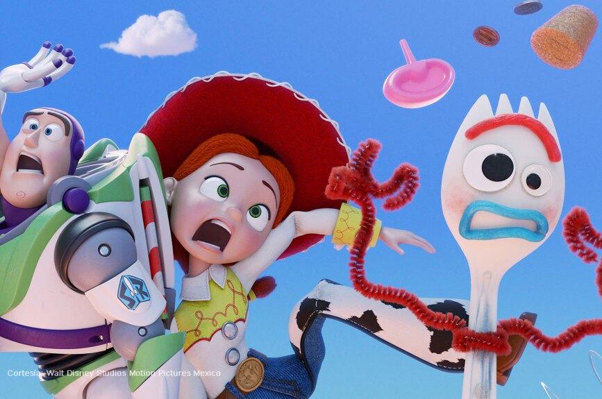 Es la cuarta y la última entrega de la saga de animación Toy Story.