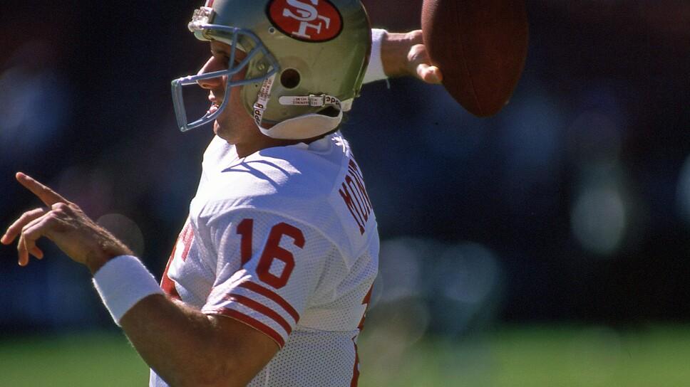 Joe Montana con San Francisco 49ers