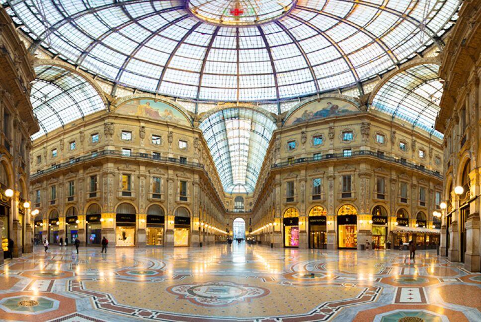 Galleria Vittorio Emanuele / Foto: Especial