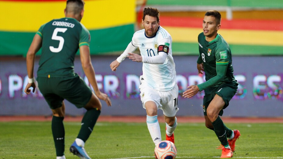Bolivia vs Argentina, Lionel Messi