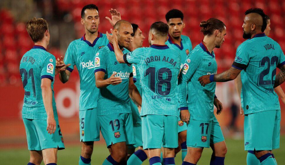 En su regreso a La Liga, el Barcelona aplastó al Mallorca