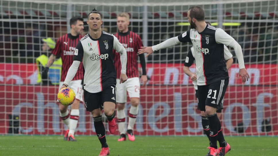 ¡Cristiano Ronaldo rescató a la Juventus en la Copa Italia!
