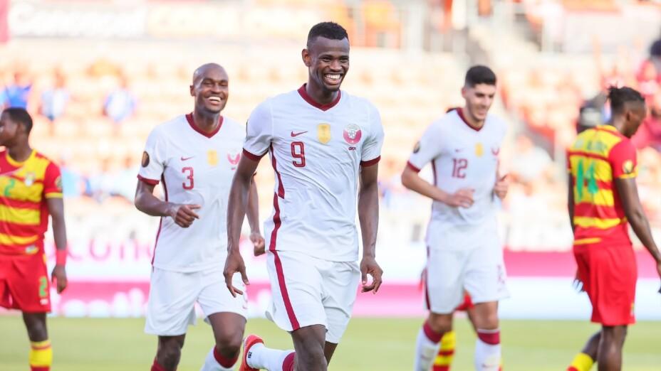 Qatar en la Copa Oro 2021