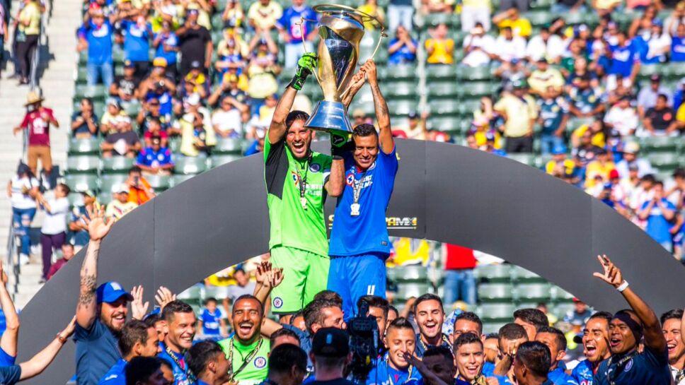 Los 5 tiìtulos de Cruz Azul luego de 1997.