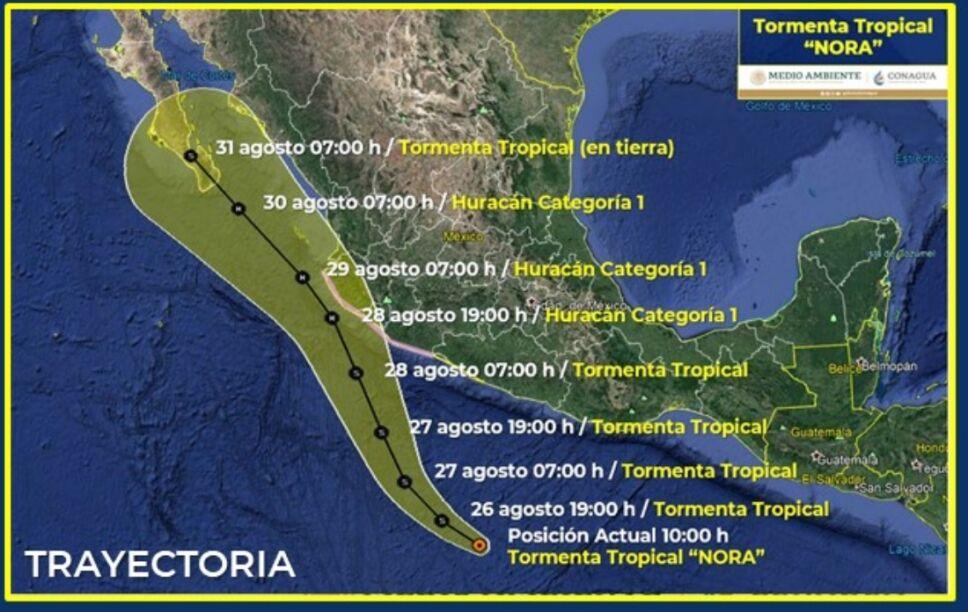 trayectoria tormenta tropical nora.jpg
