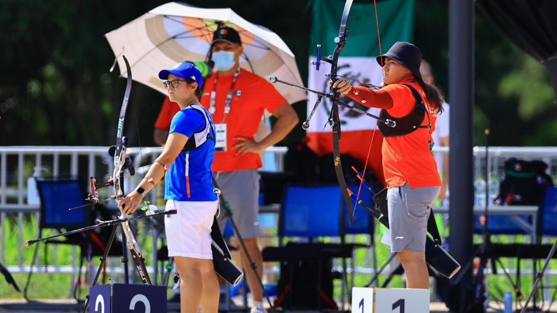 Alejandra Valencia clasificó a la ronda de 32avos en la rama femenil.