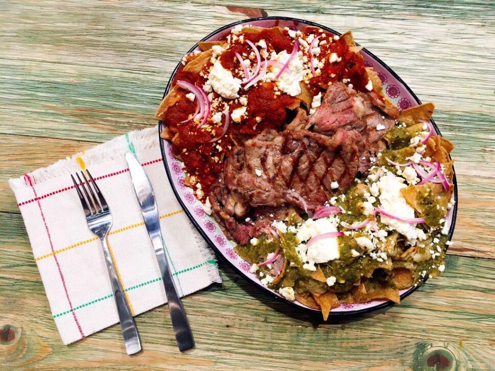 chilaquiles divorciados, receta, cocineros mexicanos, tv azteca