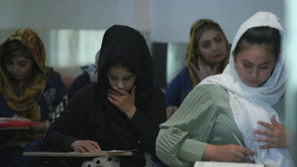 Lucha por equidad de género en Afganistán.