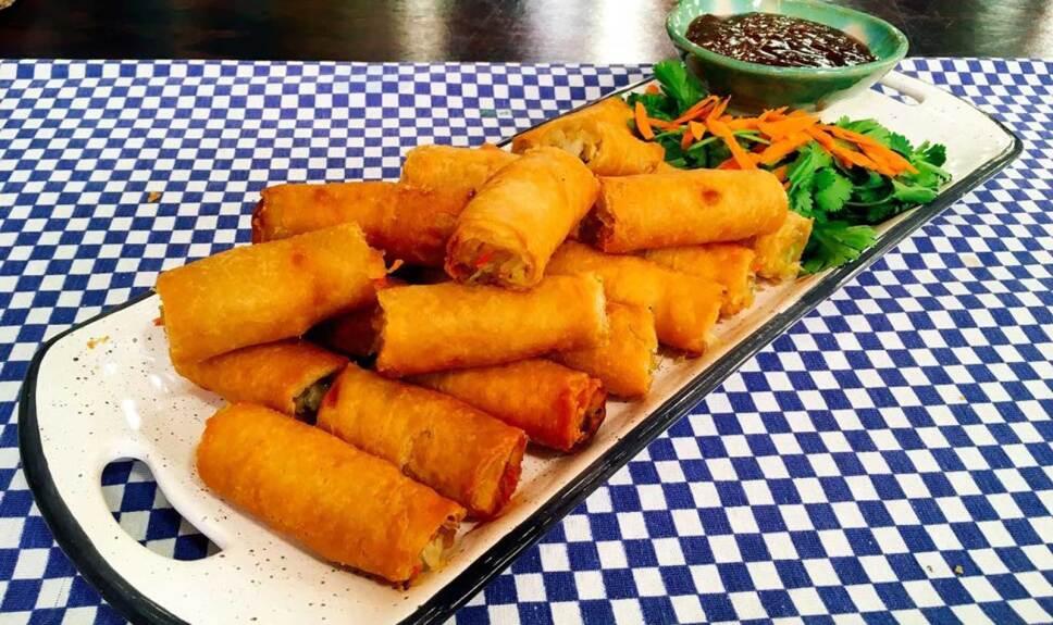 Receta Rollos primavera Cocineros Mexicanos