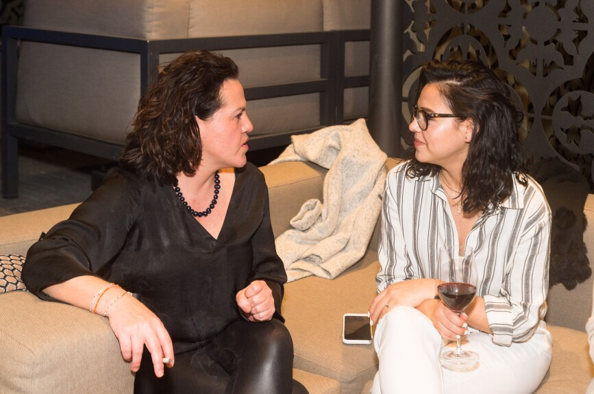Marisa Torres del Río e Ilse Rodríguez