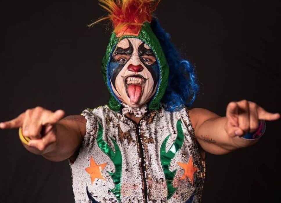 Psycho Clown luchador de la AAA