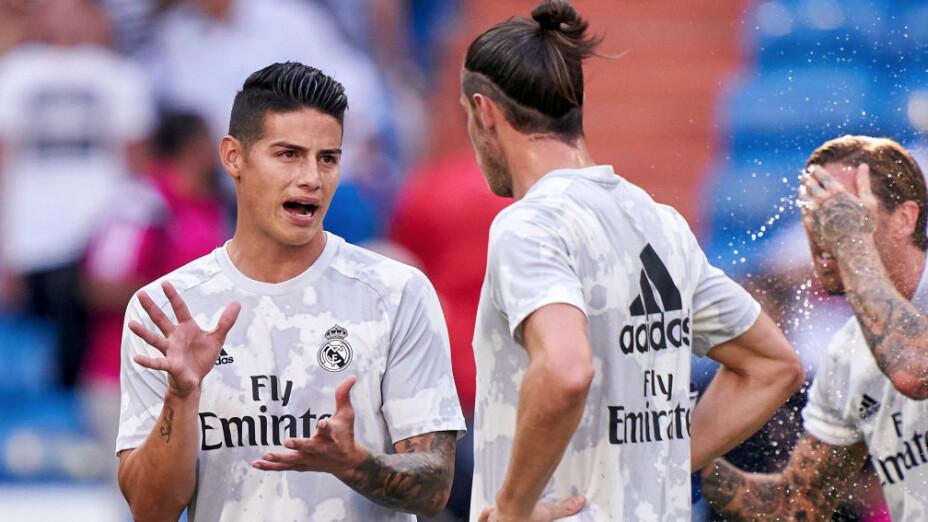 Bale y James, fuera de los planes de Zidane