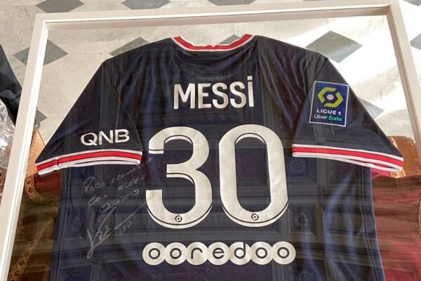 Camiseta de Messi