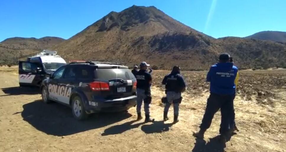 Rescataron excursionistas del cerro de El Xihuingo en Hidalgo..PNG