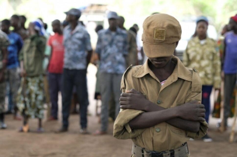 sudan ninos soldados