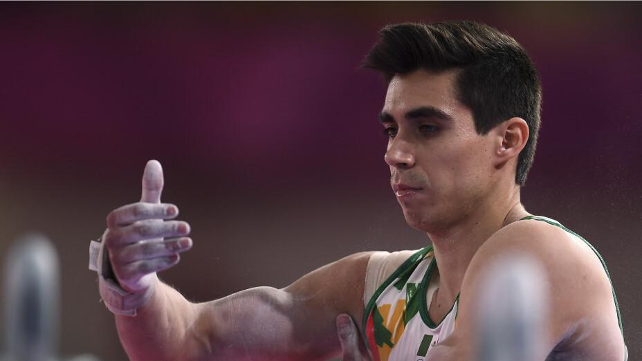 Daniel Corral en gimnasia artística tokio 2020