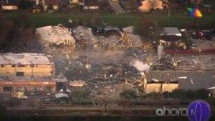 ¡Impresionante😲! Explota planta química en #Texas.